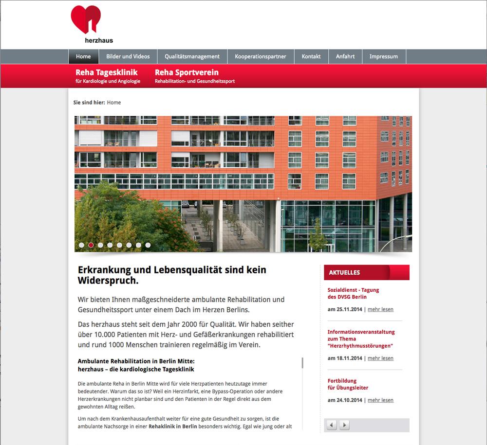 Homepage Rehaklinik