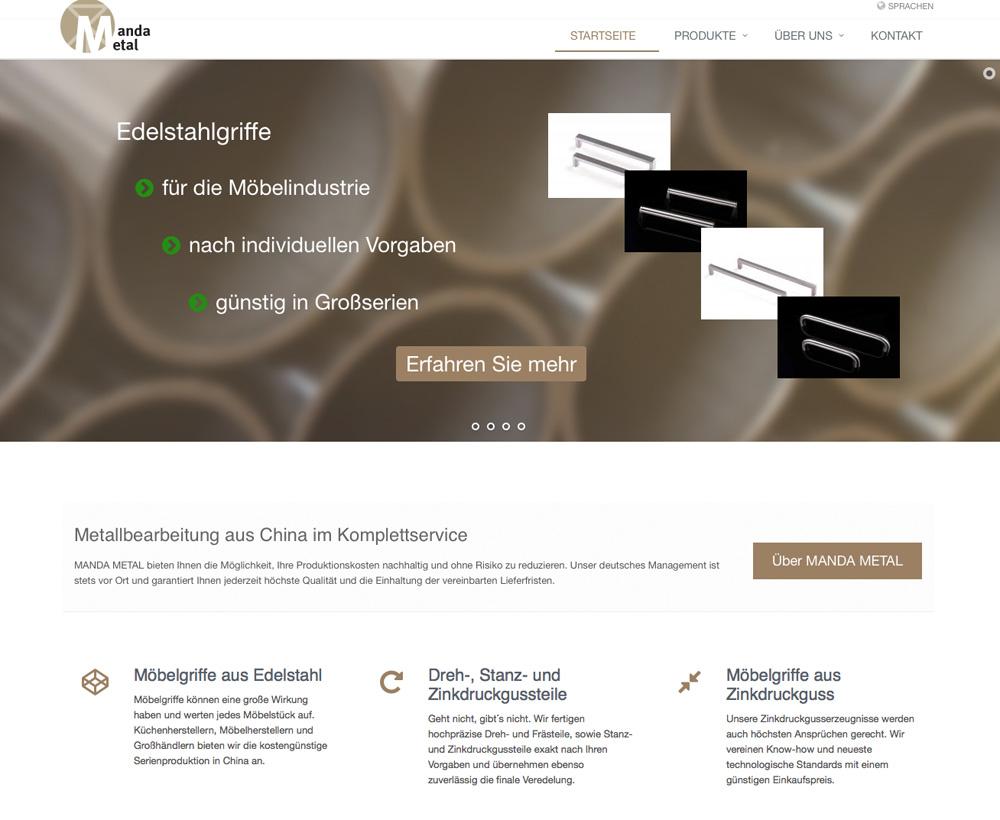 Homepage Metallverarbeitung