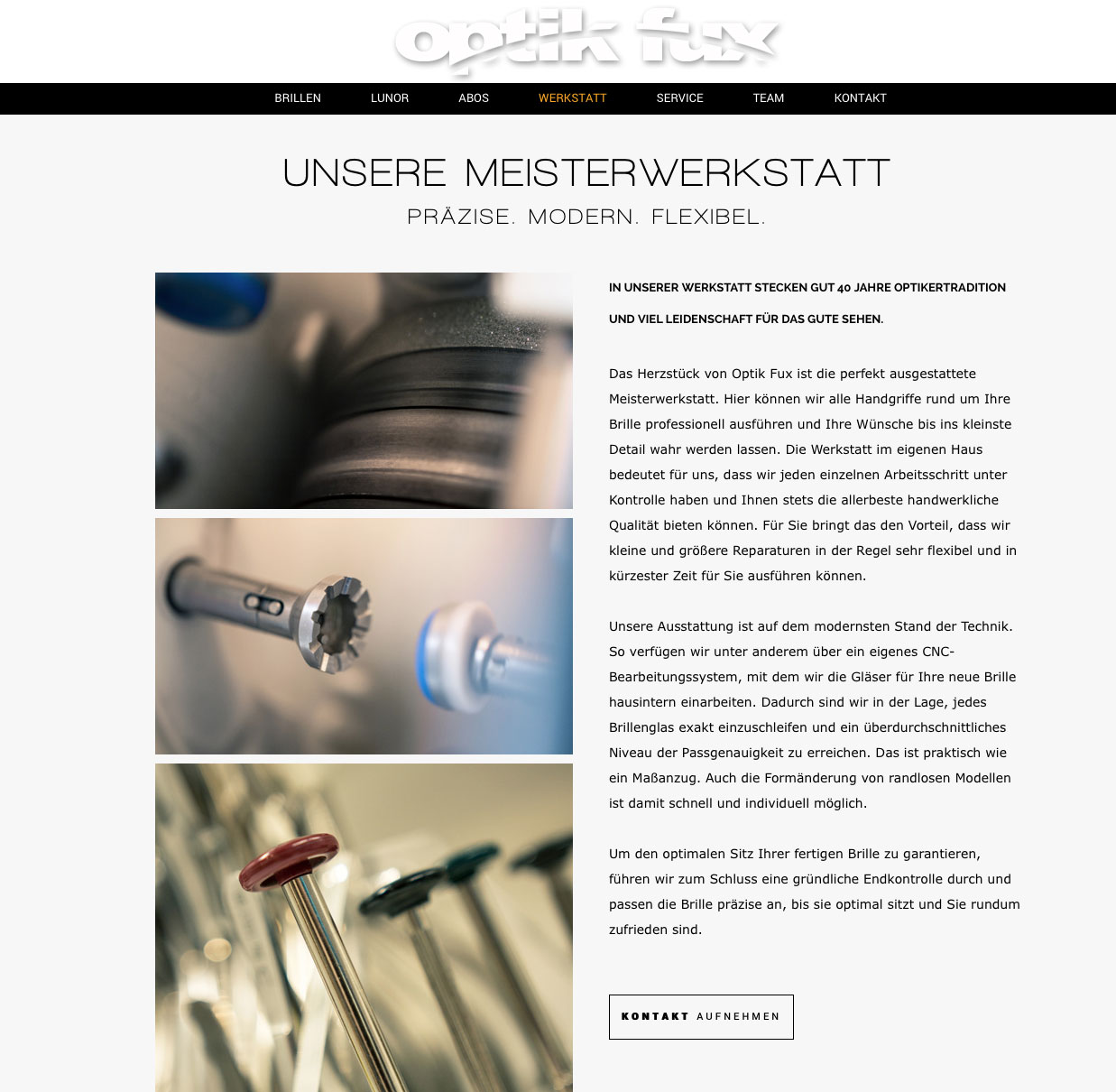 Webtext Optiker